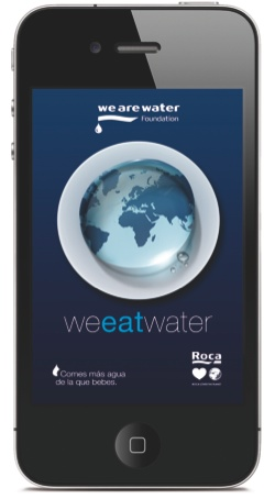 We are Water Application pour Smartphone