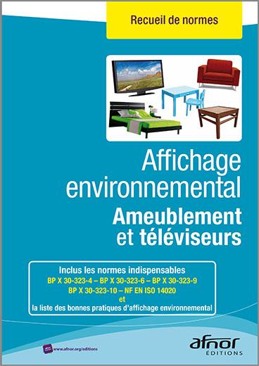 Affichage environnemental pour l'ameublement et les téléviseurs