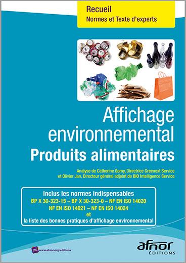 Affichage environnemental pour les produits alimentaires