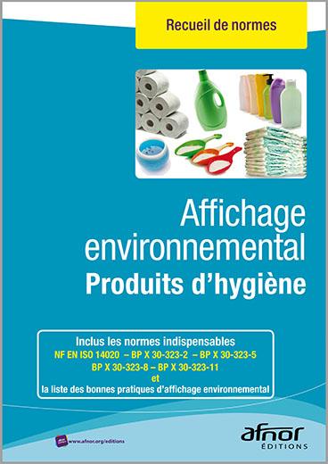 Affichage environnemental pour les produits d'hygiène