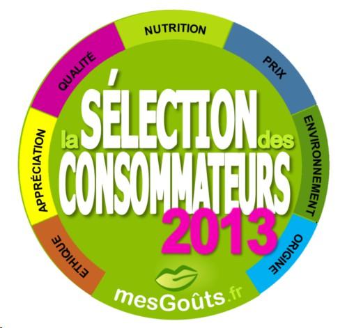 Sélection des Consommateurs mesGoûts 2013