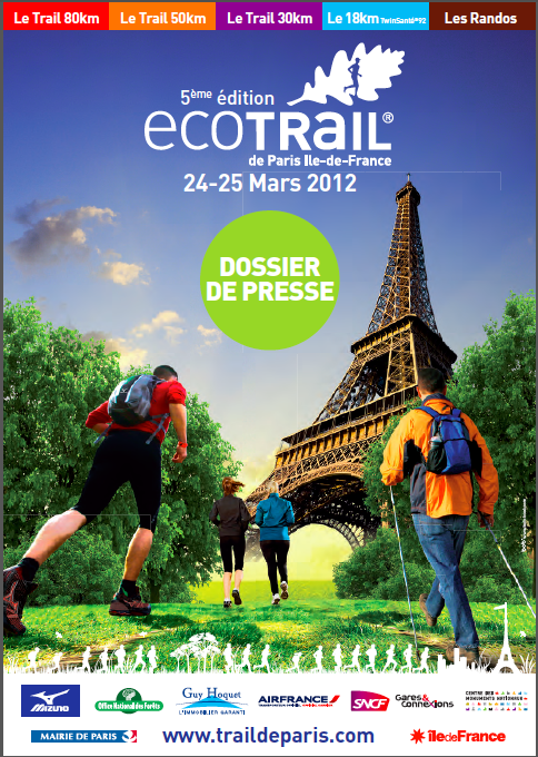 Eco-Trail de Paris Ile de France 2012