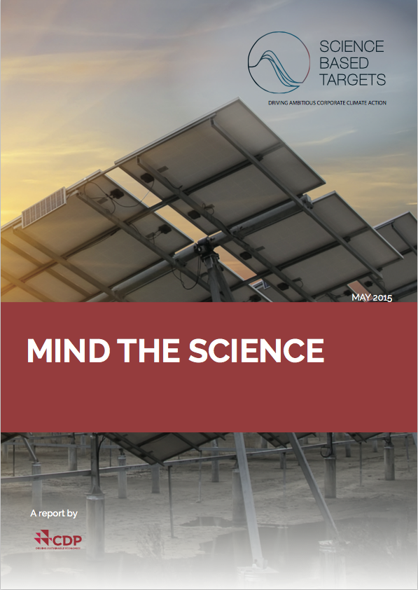 Le rapport Mind the science
