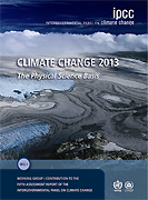 Couverture Volume 1 du 5e Rapport d'évaluation du GIEC - Climate Change 2013: The Physical Science Basis
