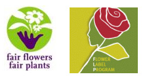 fleurs labellisées Max Havelaar/Flower Label Program ou Fair Flower Fair Plants