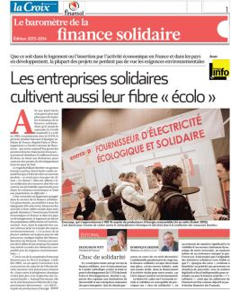 Financement solidaire : Finansol salue le passage du milliard d'euros