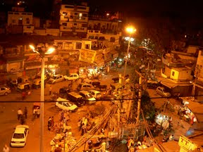 Delhi - Paharganj by night